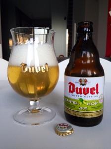 Duvel Tripel Hop 2015 bier