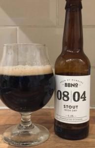 BBNo 08/04 Stout bier